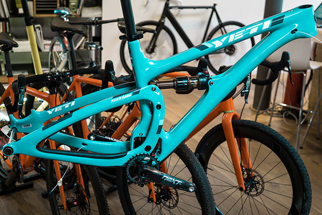 follow me Custom Bikes Yeti Bild