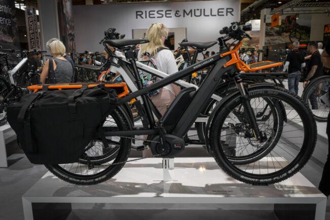 Riese und Müller Multicharger City auf der Eurobike