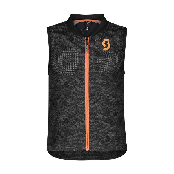 Scott AirFlex Vest Jr Protector grey/orange 20/21