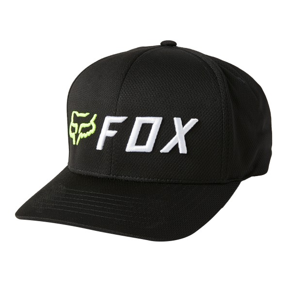 Fox Racing Apex Flexfit Hat black/yellow 2021