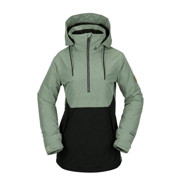 Volcom Fern Insulated Gore Pullover wms dusty green 20/21