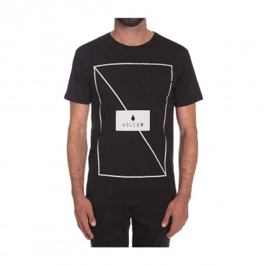 Volcom Line Through Bsc SS Tee black 16/17