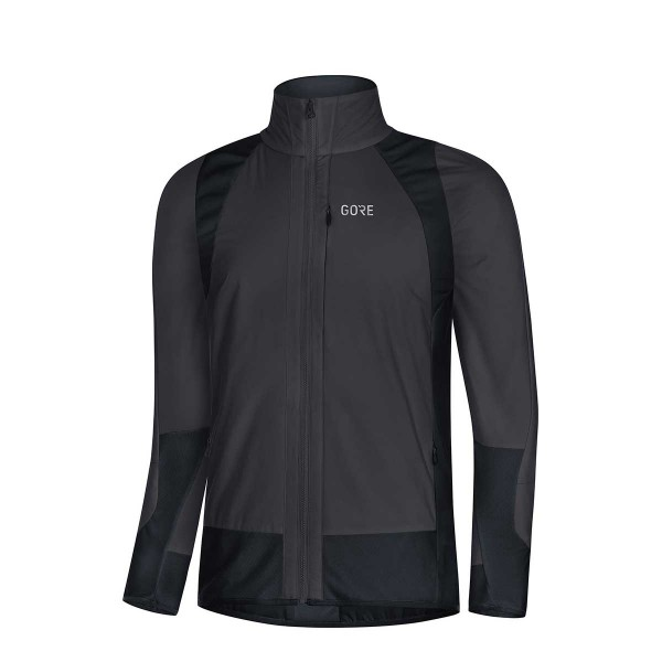 Gore Wear C5 Partial Gore Windstopper Insulated Jacket grey/black 18/19
