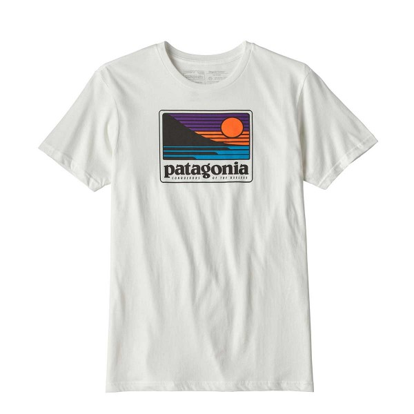 Patagonia Up&Out Organic Tee white 2018