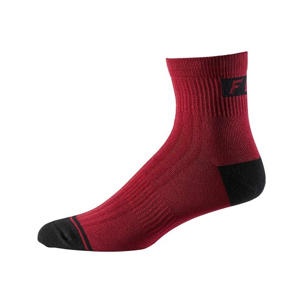 "Fox Racing Logo Trail 4"" Sock chili 2020"