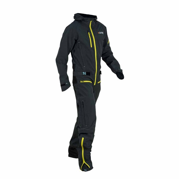 Dirtlej Dirtsuit Core Edition grey / yellow 2021