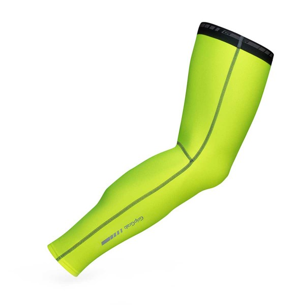 GripGrab Leg Warmers Hi-Vis fluo yellow 2017