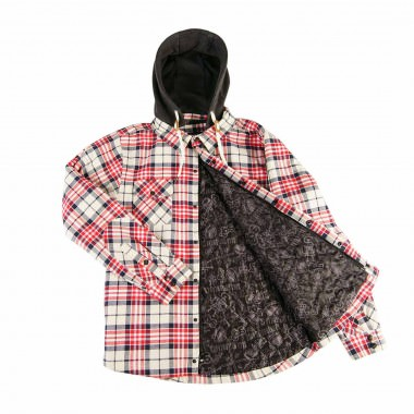 Saga Outerwear Insulated Flannel red/navy 15/16