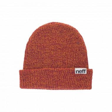 Neff Fold Heather Beanie orange/raspberry 14/15