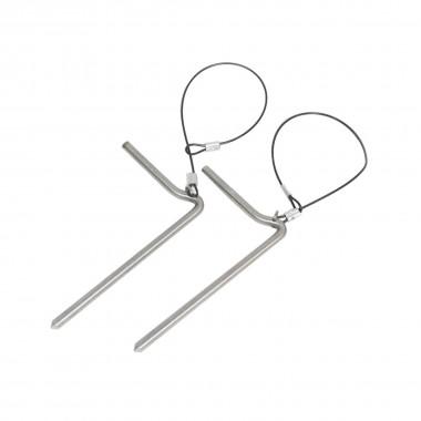 Spark Stainless Steel Spare Pins Ersatz-Splinte 16/17