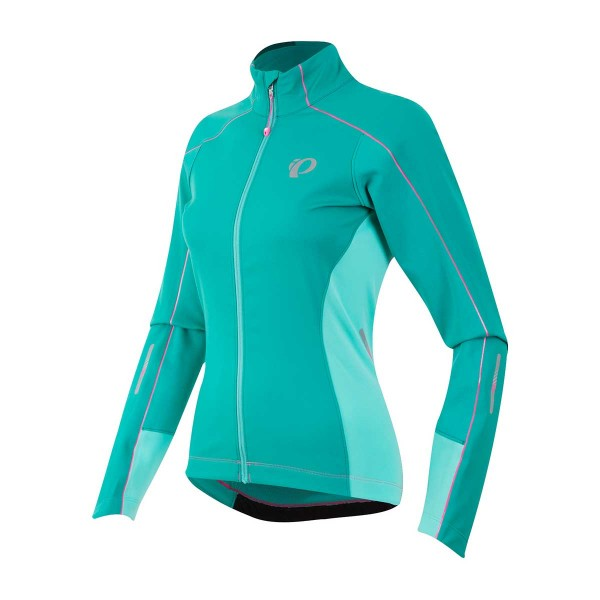 Pearl Izumi W Elite Pursuit Softshell Jacket wms green/aqua mint
