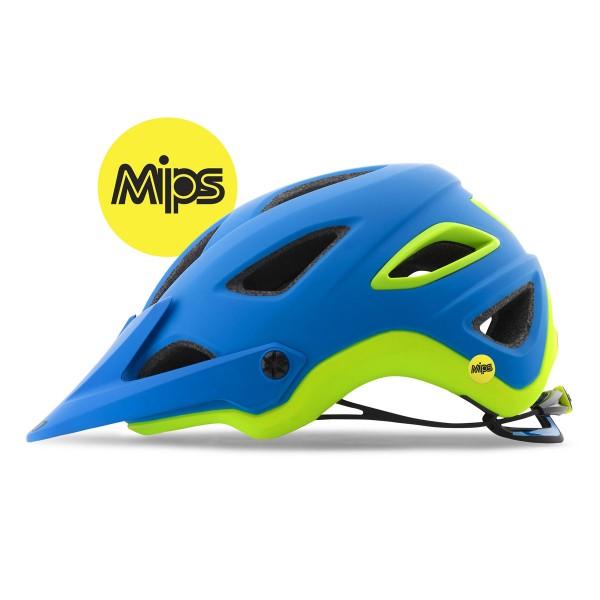 Giro Montaro Mips matte blue/lime 2018
