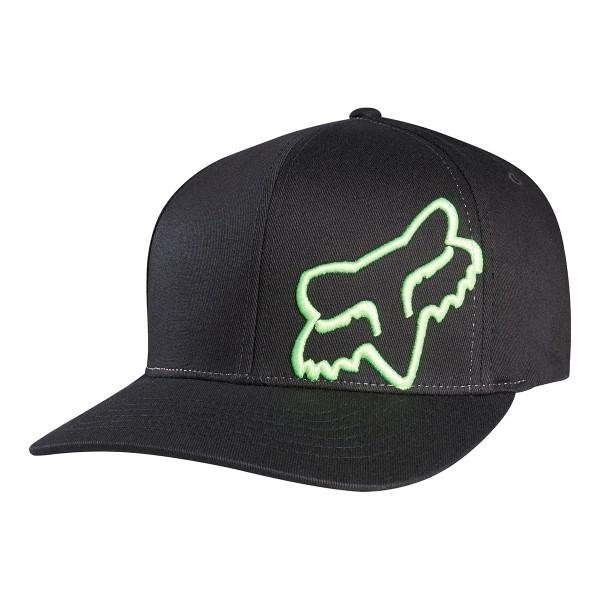 Fox Racing Flex 45 Flexfit Hat black/green 2021