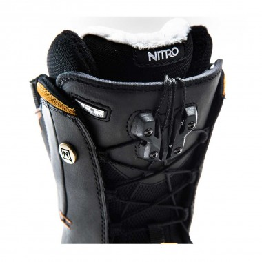 Nitro Crown TLS wms black 14/15