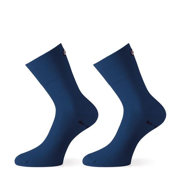 Assos MilleGT Sock caleum blue 2020