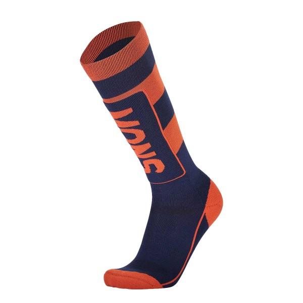 Mons Royale Mons Tech Cushion Sock navy/orange smash 20/21