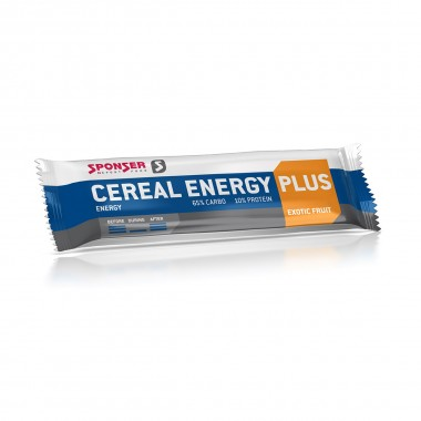 Sponser Cereal Energy Bar 40g strawberry
