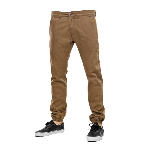 REELL Jogger Pant cappuccino dk sand 2015