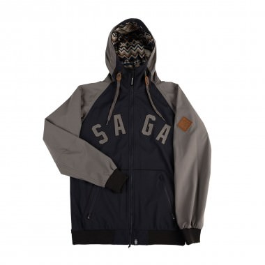 Saga Outerwear Classic Logo Jacket stealth 15/16