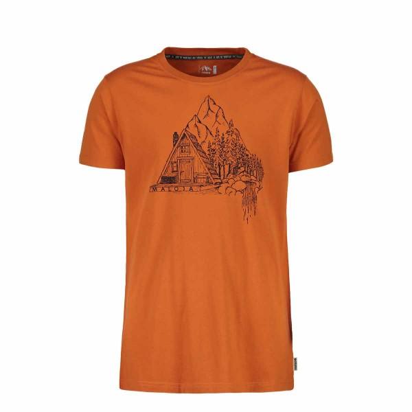 Maloja TarsousM. T-Shirt firelily 2019