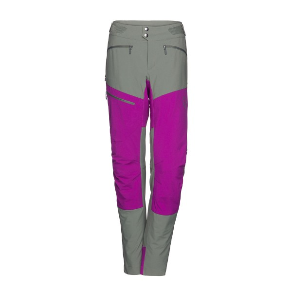 Norrona fjora flex1 Pants wms castor grey/royal lush 2018