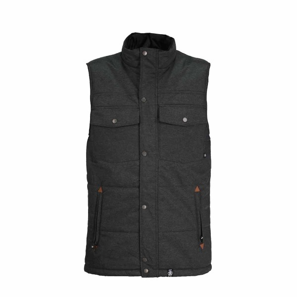 Saga Insulated Vest darkness 14/15