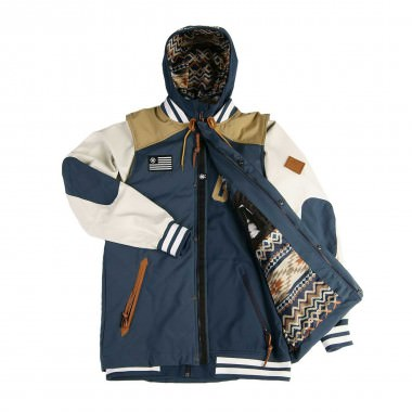 Saga Puff Vest & Poly Combo the admiral 15/16