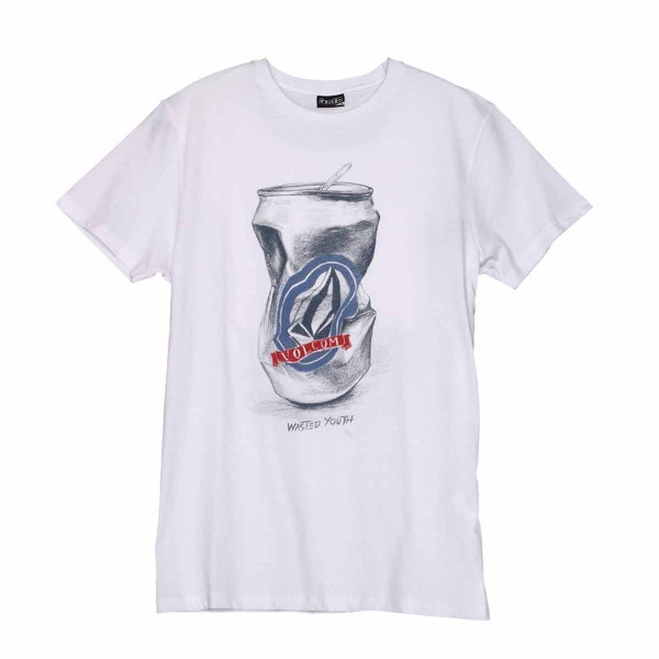 Volcom Wasted Youth SS Tee white 13/14
