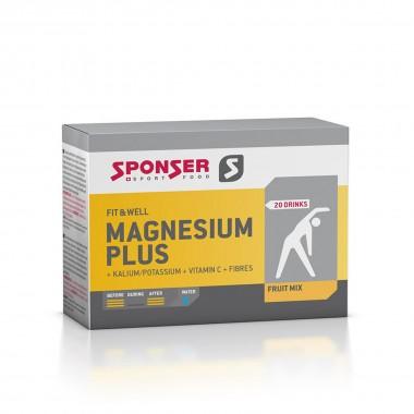 Sponser Magnesium Plus Drink 20x6,5mg