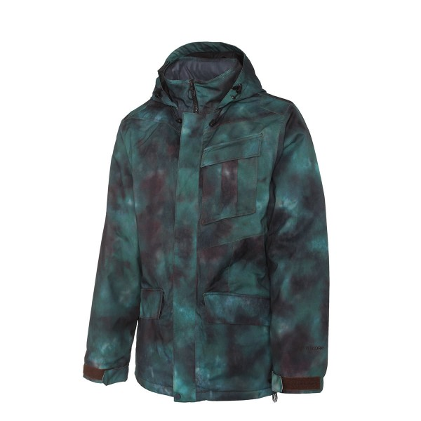 Volcom Mails Jacket mud-dye