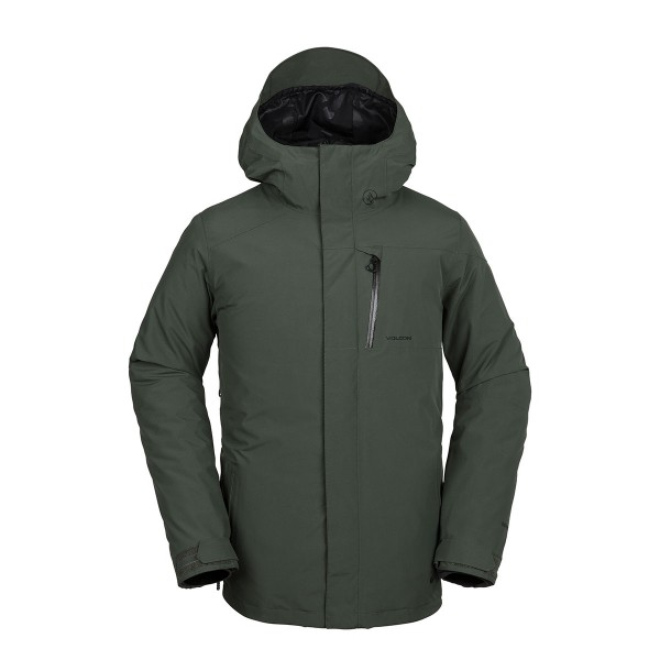 Volcom L Gore-Tex Jacket black green 18/19
