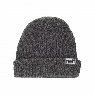 Neff Fold Heather Beanie black/grey 15/16