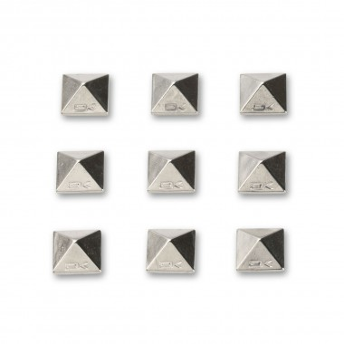 Da Kine Pyramid Studs chrome 13/14