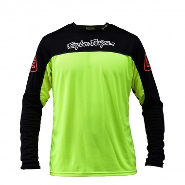 Troy Lee Sprint Jersey flo yellow 2016