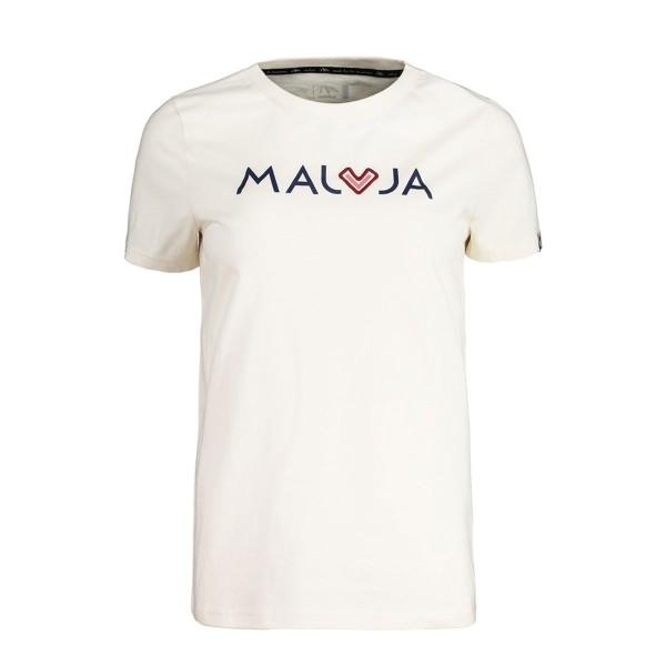 Maloja CrotschasM. T-Shirt wms vintage white 2020