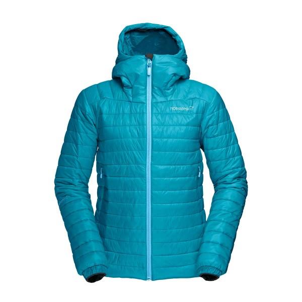 Norrona falketind PrimaLoft 100 Hood Jacket wms iceberg blue 16/17