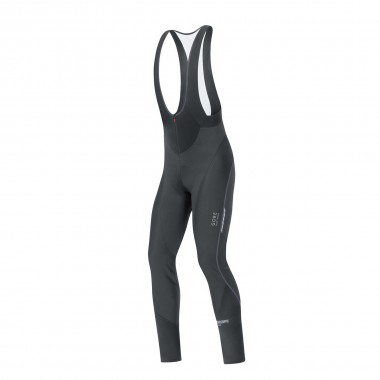 Gore Oxygen Wind Stopper Softshell Bibtights+ black 17/18