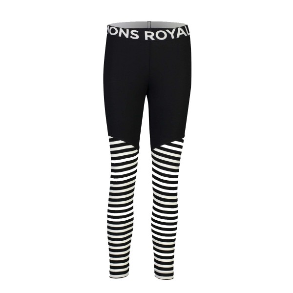 Mons Royale Christy Legging wms black/thick stripe 19/20