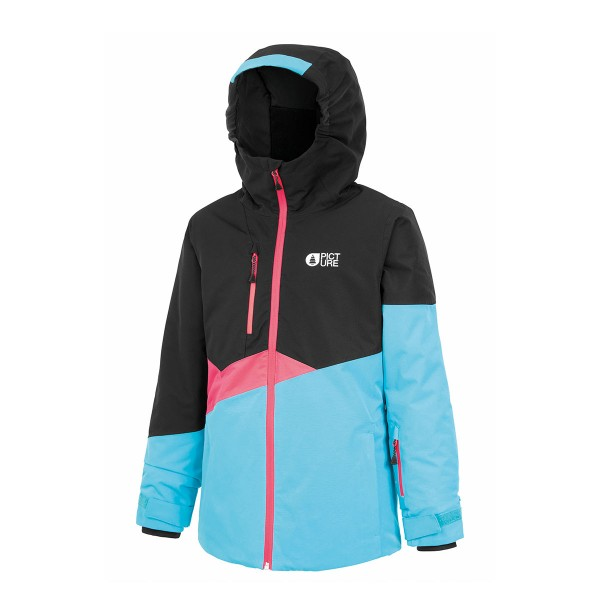 Picture Naika Jacket kids blk turquoise 20/21