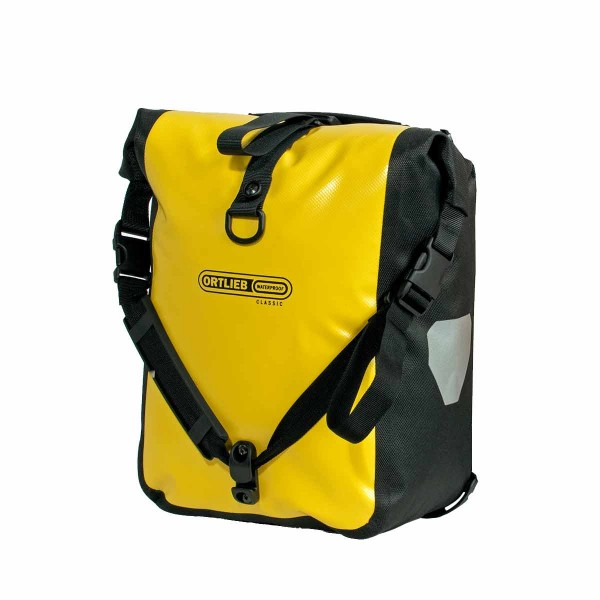 Ortlieb Front Roller Classic Paar yellow/black