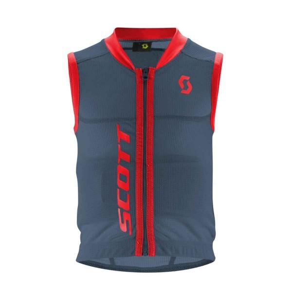 Scott Actifit Jr Vest Protector blue/red 16/17