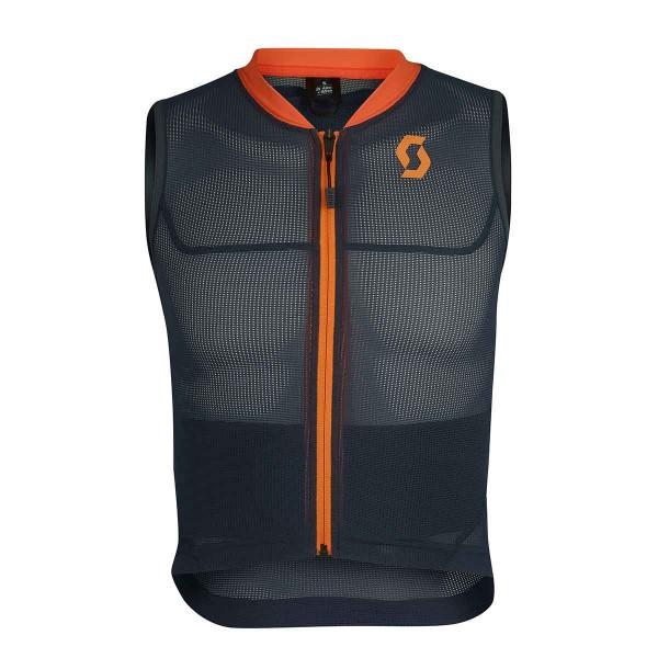 Scott AirFlex Vest Protector blue nights / sweet orange kids 19/20