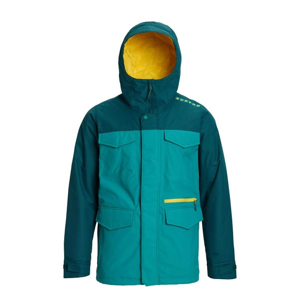 Burton Covert Jacket Slim green-blue slate/teal 19/20