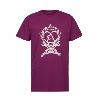 Zimtstern T-Shirt TSM_True Love raspberry 2013