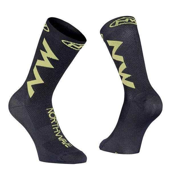 Northwave Extreme Air Sock black / lime 2021