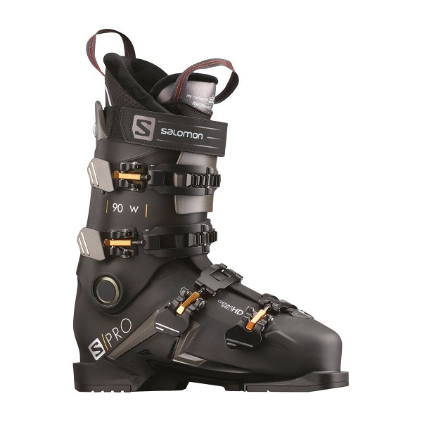 Salomon S/Pro 90 W black/belluga/gold 20/21