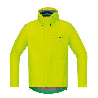 Gore Element Gore Tex Paclite Jacke neon yellow 15/16
