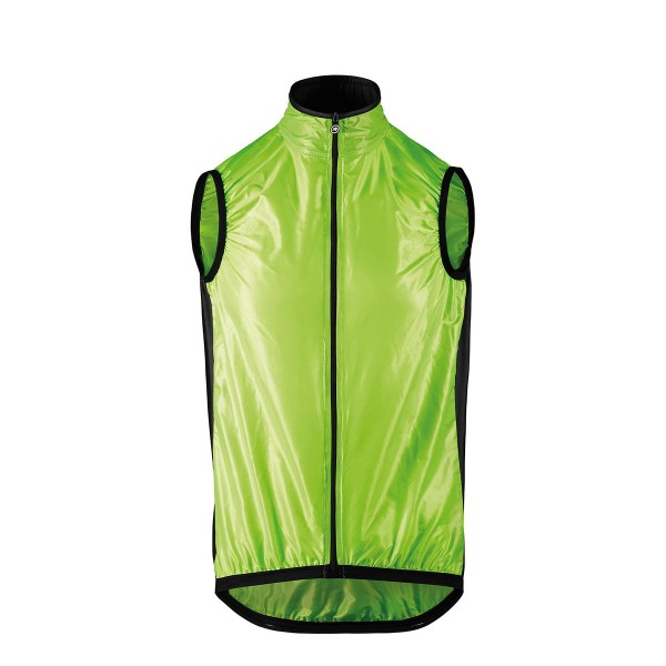 Assos Mille GT Wind Vest visibility green 2020