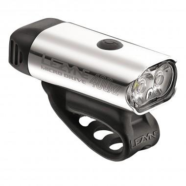 Lezyne Micro Drive 400XL Front silver