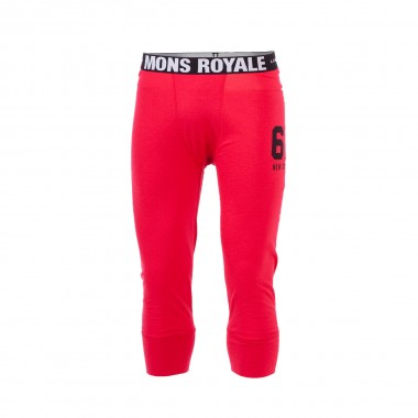 Mons Royale 3/4 Long John red 15/16